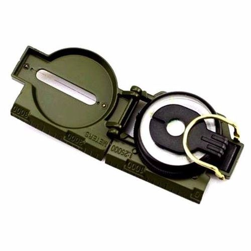 Bussola Militar Guepardo Ob0100 Aluminio Visor Fluorescente  - Alexandre Venturini
