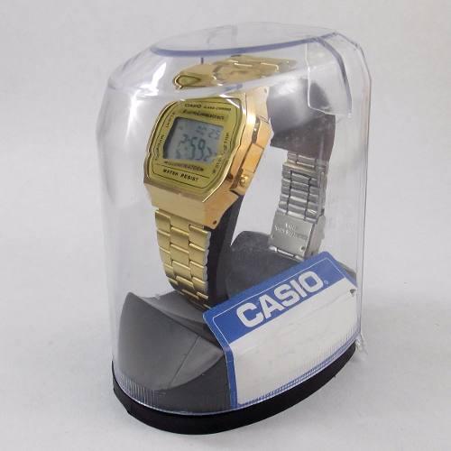 Relógio Casio Dourado Retrô A168wg 9wdf 100% Original  - Alexandre Venturini