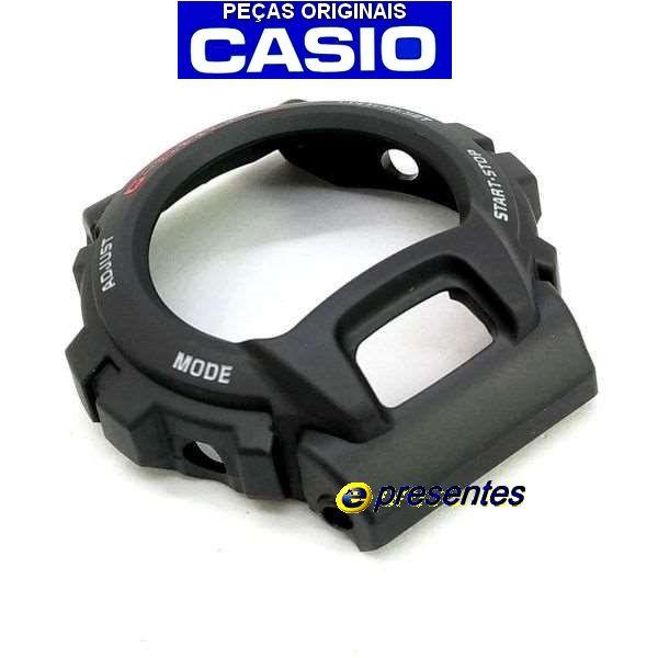 Capa Protetora Bezel Casio G-shock Dw-6600 e Dw-6900-1V Serie Prata   - E-Presentes
