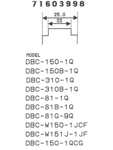 Pulseira Casio 100% Original Dbc-150 Dbc310 Dbc-81 Dbc-w150  - E-Presentes