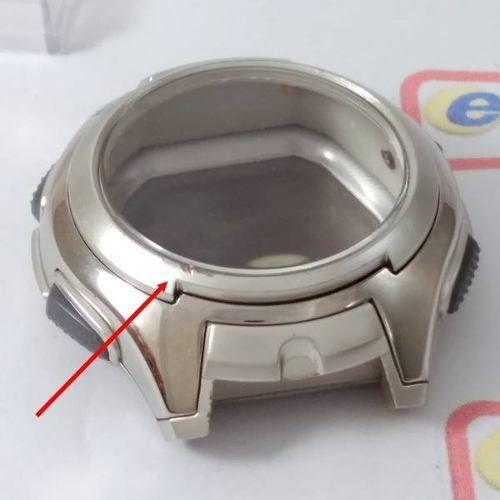Caixa Completa Relógio Casio Aq-160 Wd - Peça Original  - E-Presentes