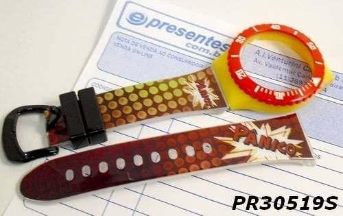 Pulseira Champion Estampada Serie Pânico Na Tv - Pr30519s  - E-Presentes