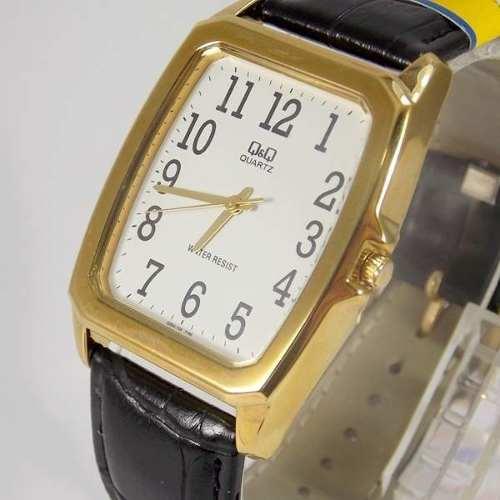 Relógio Q&Q Masculino Pulseira Couro Q064104y- Maq.citizen  - E-Presentes