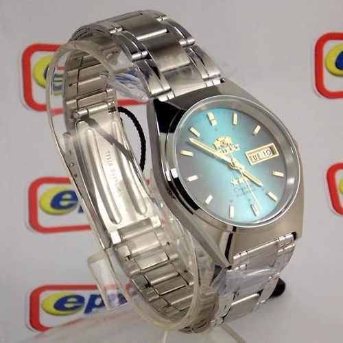Relógio Automático Orient Azul Fem0801ll9 100% Original 36mm  - E-Presentes