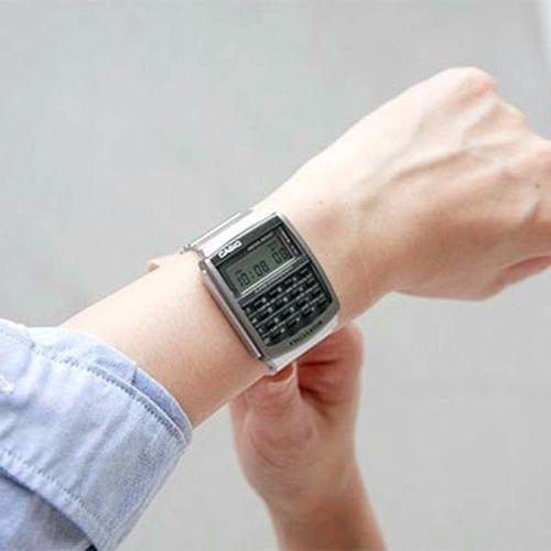 Relógio Casio Retrô Vintage Calculadora Ca-506-1df Autêntico  - E-Presentes