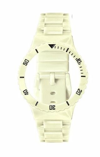 Pr30219b Pulseira Champion Avulsa Off White Brilhante  - E-Presentes
