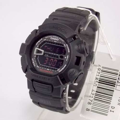 G-9000ms-1dr Relógio Casio G-shock Mudman Grafite  - E-Presentes