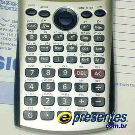Casio Fx-991es Plus Calculadora Cientifica Engenharia  - E-Presentes