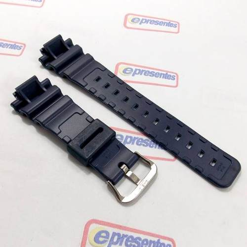 Pulseira Casio G-shock Azul Dw 6900 6100 6200 8700 Original  - E-Presentes