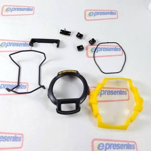Kit Completo Bezel + Peças G-shock Gl-121 9v 100% Original  - E-Presentes