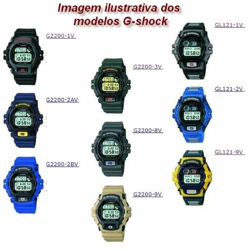 Bezel Interno G-shock G-2210 G-2200 Gl-121 100%original Novo  - E-Presentes