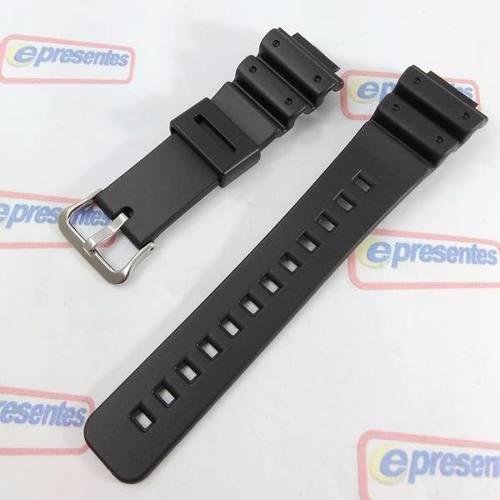 Pulseira Casio 100% Original G-shock 16MM Dw-5300 Dw-5900 Dw-8700 DW-56RTB DW-6000 DW-6100 DW-6200 DW-6500 DW-6600 DW-6695 DW-6700 DW-6800 DW-6900 DW-6900FS DW-8700  - Alexandre Venturini
