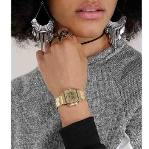 Relógio Feminino Casio Digital Dourado Vintage La680wga-9df  - Alexandre Venturini