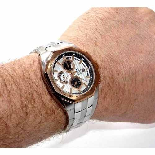 Ef-531d-7av Relógio Casio Edifice Cronógrafo Leia Descrição  - E-Presentes