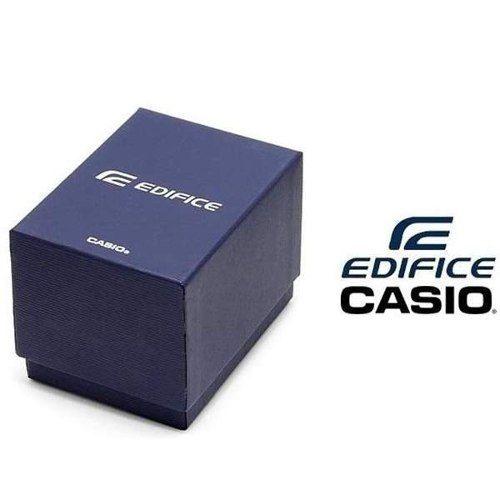 Relogio Casio Edifice Aço Cronógrafo Ef-547d 7a2v Original  - E-Presentes