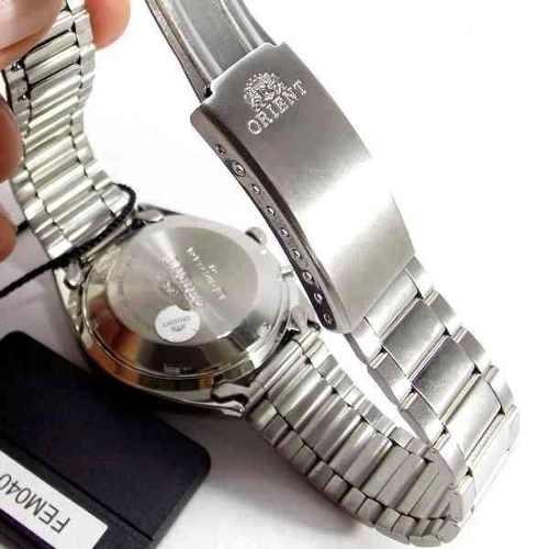 Relógio Orient Automático Verde FEM0401SF9 100% Autentico  - E-Presentes
