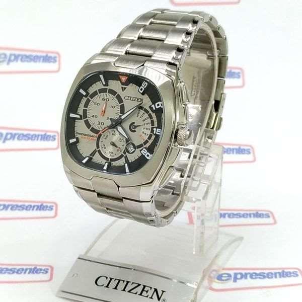 An9000-53c Relógio Masculino Citizen Cronógrafo Aço Inox WR100  - Alexandre Venturini