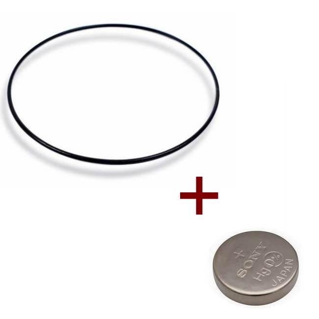 """Anel de Vedação + Bateria  ( O""""Ring) Casio EFR-554  - E-Presentes"""