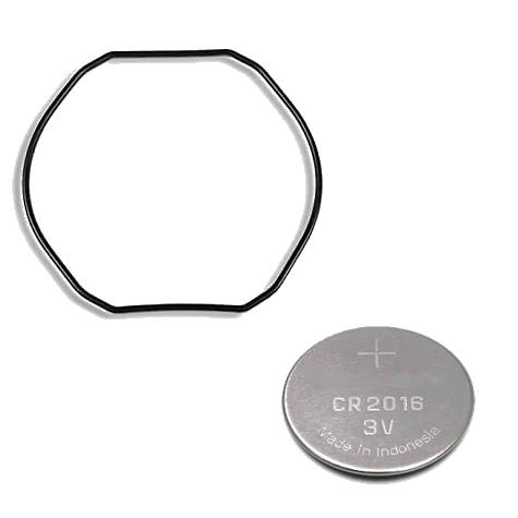 """Anel de Vedação O""""Ring + Bateria Relogio Casio AQ-160, AQ-161, AQ-162, AQ-163  - E-Presentes"""