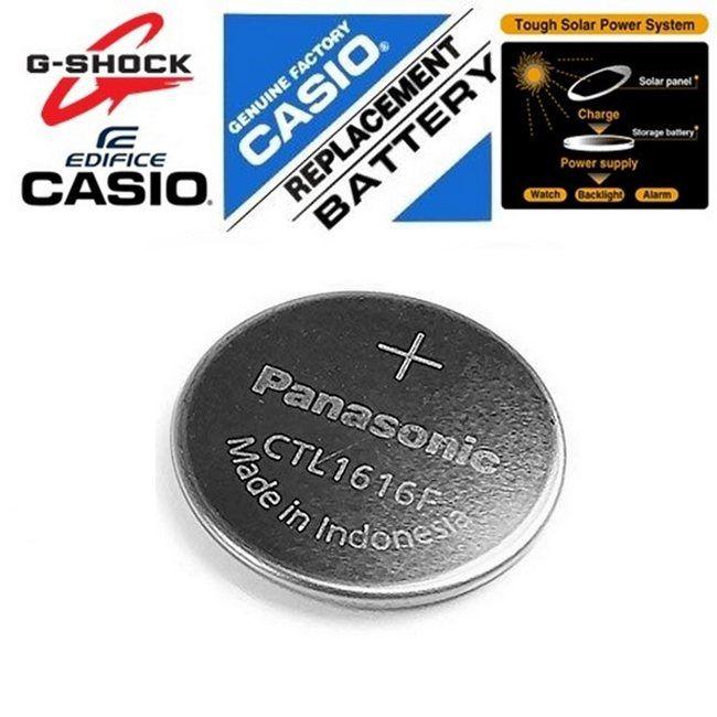 Anel de Vedação + Pilha CAPACITOR SolaR G-7400 Casio G-Shock   - E-Presentes
