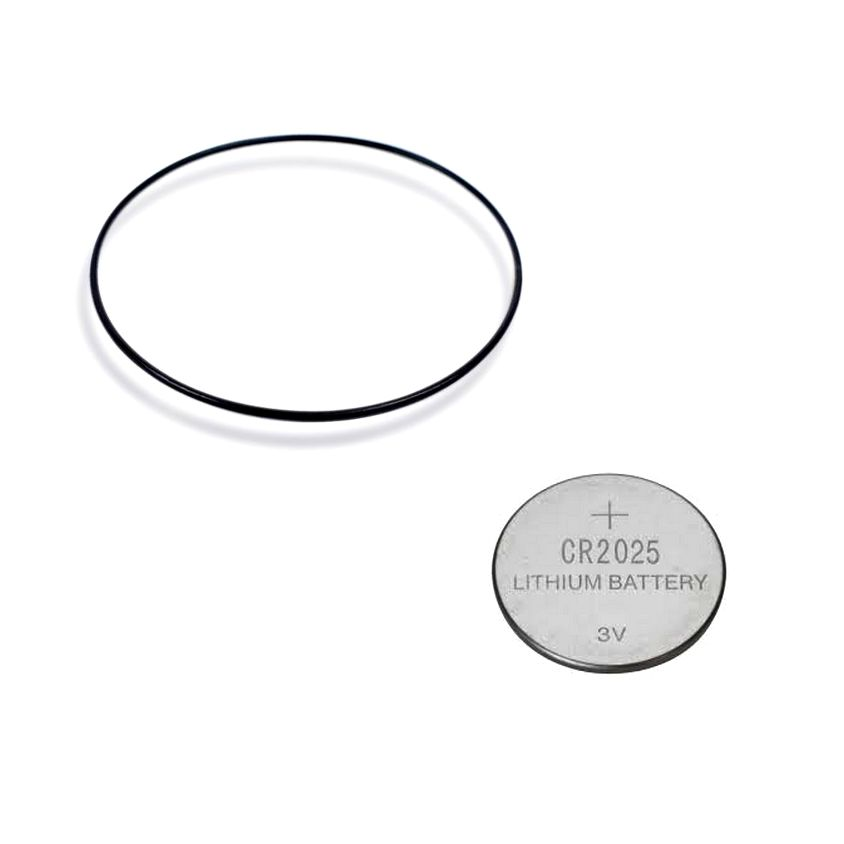 Anel de Vedação + Pilha Lithium para Relogio Casio AMW-710  - E-Presentes