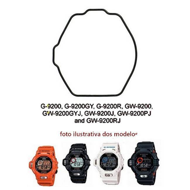 Anel de Vedação Traseiro Casio G-shock Riseman G-9200 GW-9200 GW-9230  - E-Presentes