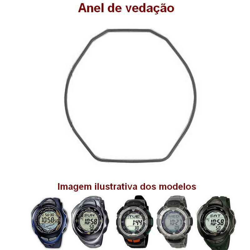 """Anel de Vedação traseiro ( O""""Ring) Casio Protrek PAG-80, PRG-80, PRG-90, PAW-1100, PAW-1200, PRW-1200, SPW-1000  - E-Presentes"""