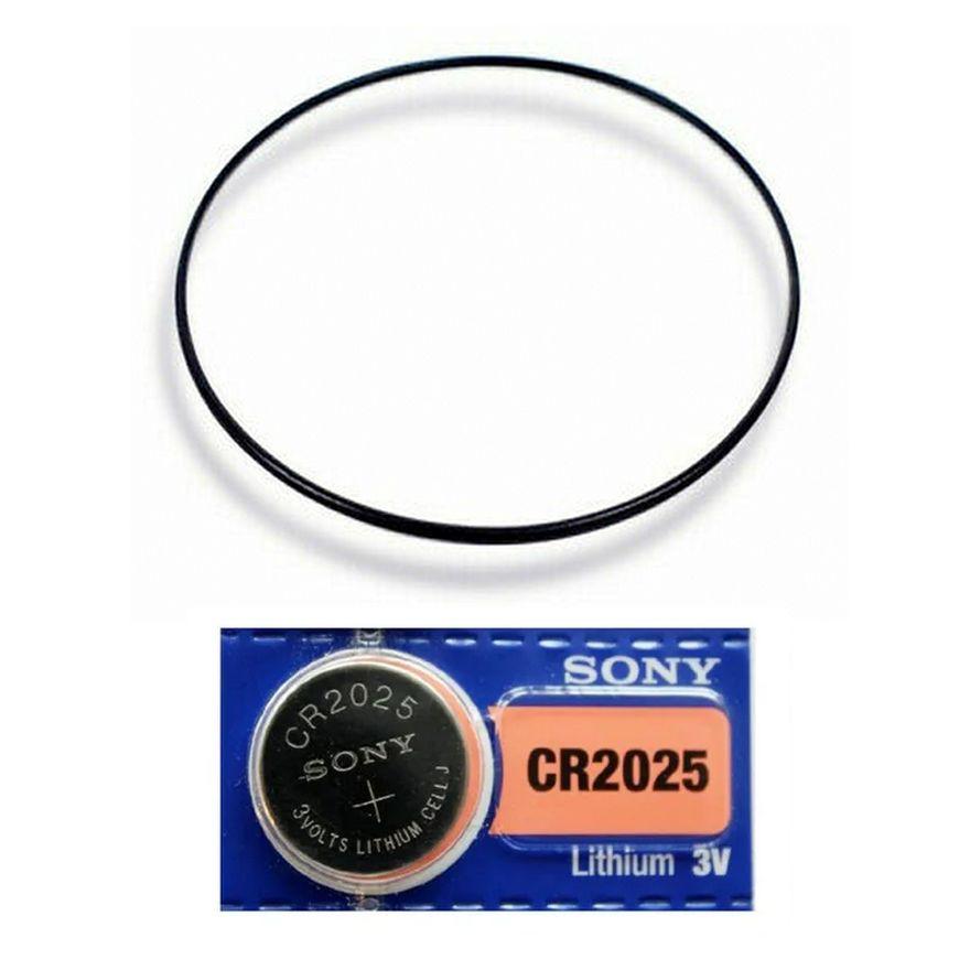 Anel Vedação Traseiro + Bateria GD-100 GD-101 GD-110 GD-120  - E-Presentes