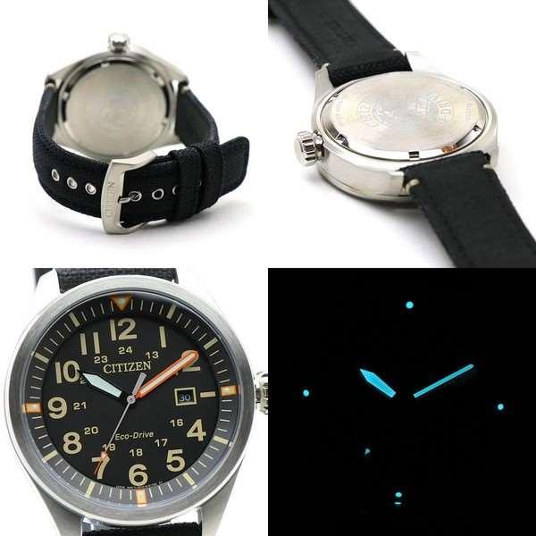 AW5000-24E Relógio Masculino Analógico Citizen Eco-Drive Pulseira Tecido  - E-Presentes