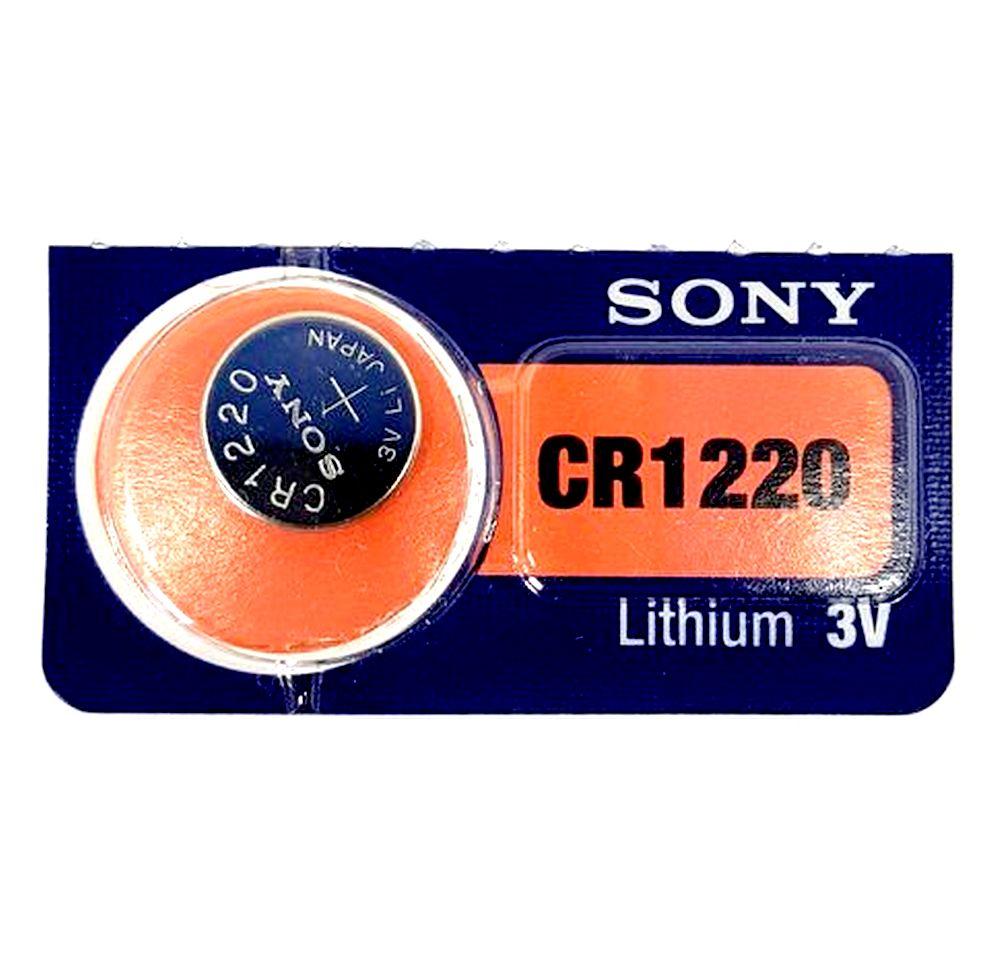 Bateria Lithium 3V  CR1220 SONY - ORIGINAL - PREÇO UNITARIO  - E-Presentes
