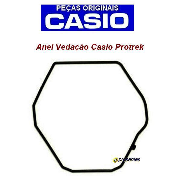 Bateria Solar (Recarregavel) + Anel de Vedação Traseiro Casio Protrek PRG-130  prg110   prw1300  PRW1500  - E-Presentes