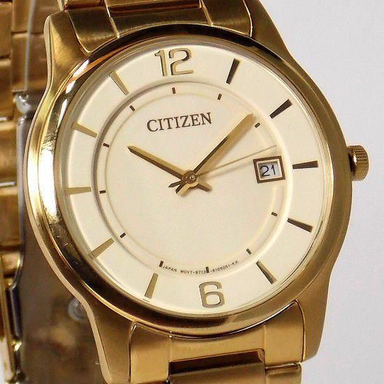 BD0022-59a Relogio Citizen Feminino Dourado Analogico Quartz  - E-Presentes
