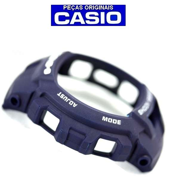 Bezel Azul Casio G-shock G-7500 G-7510 - 100% Original    - E-Presentes