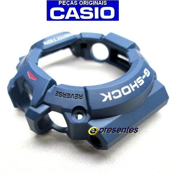 Bezel Azul Casio G-Shock Rangeman GW-9400NV-2   - E-Presentes