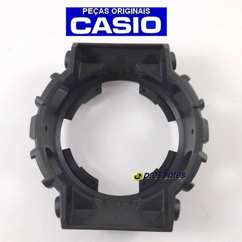 Bezel Capa Casio G-shock Ga-100CF-1A9 Preto Semi Brilhante  - E-Presentes