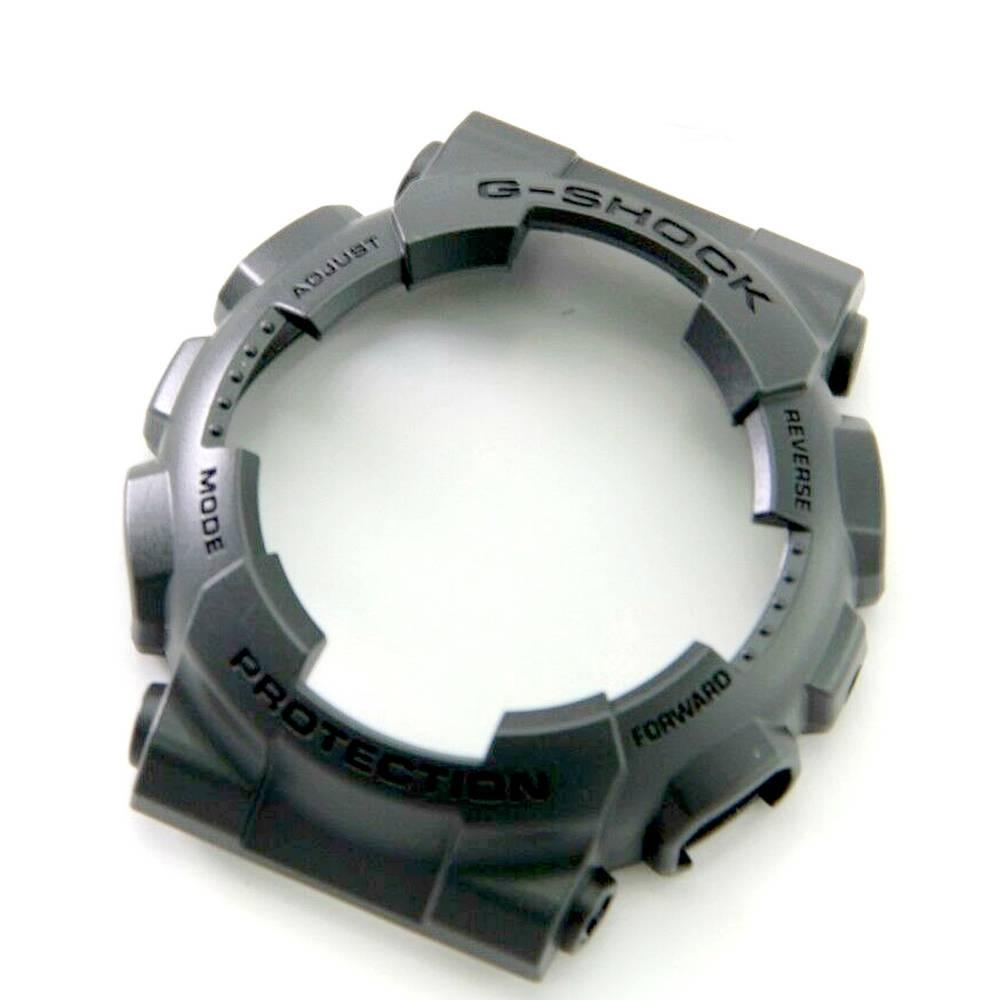 Bezel Capa Casio G-shock GA-100CF-8A Resina Cinza Escuro  - E-Presentes