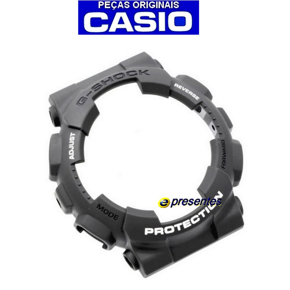 Bezel Capa Casio G-shock Ga-110c-1a Cinza Grafite    - E-Presentes