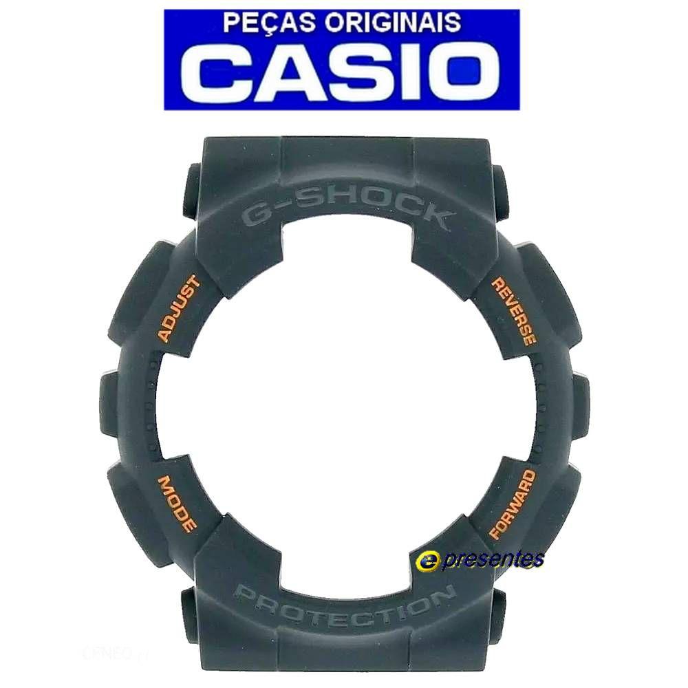 Bezel Capa Casio G-shock Ga-110TS-1a4 Cinza *  - E-Presentes