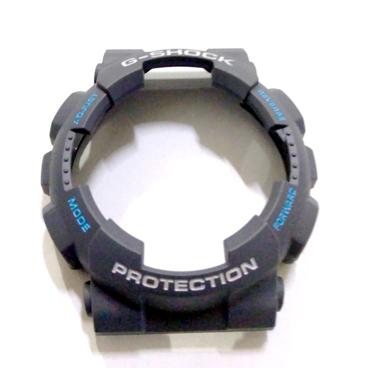 Bezel (capa) Casio G-shock GA-110TS-8A2 Cinza *  - E-Presentes