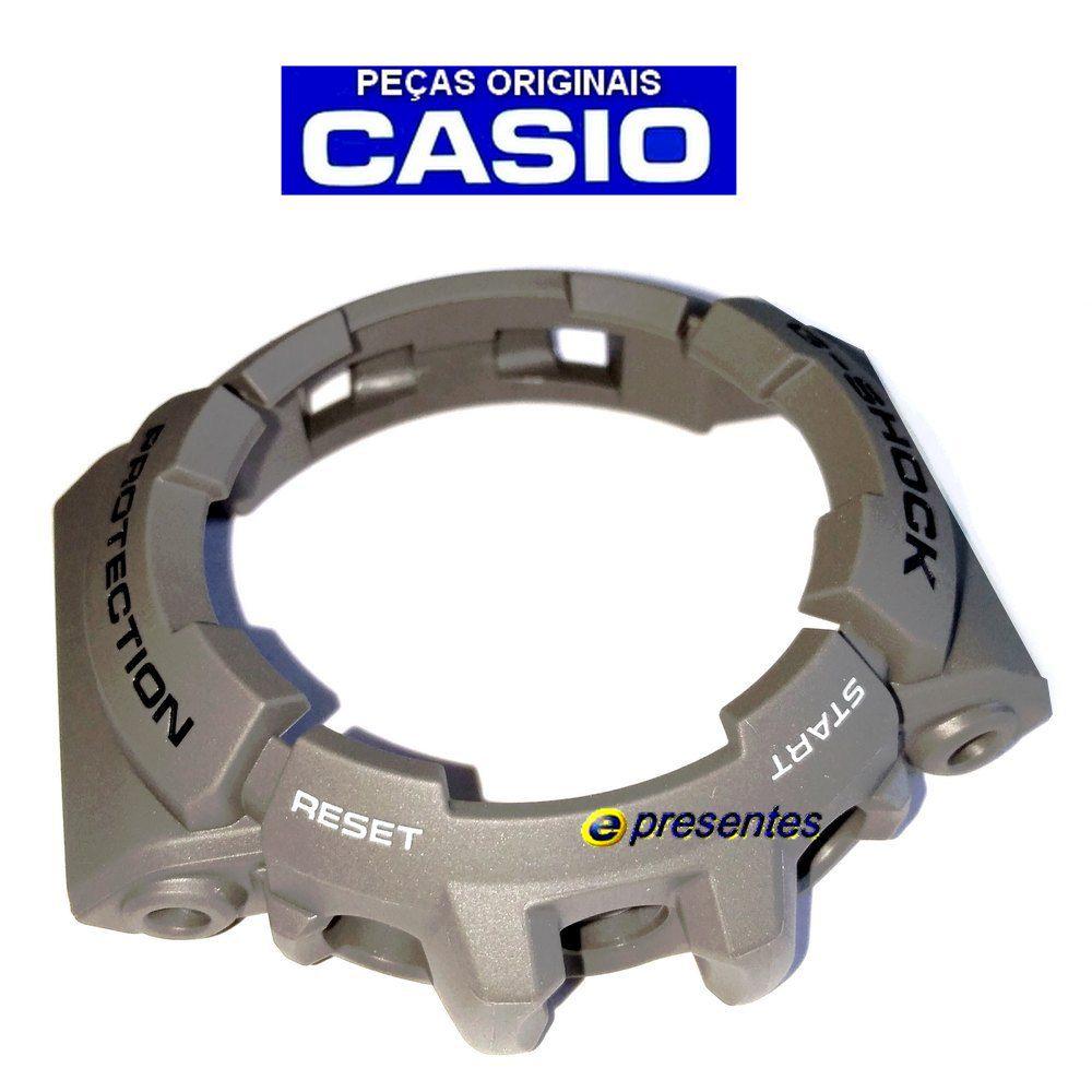 Bezel Capa Casio G-shock Gac-100-8a Cinza *  - E-Presentes