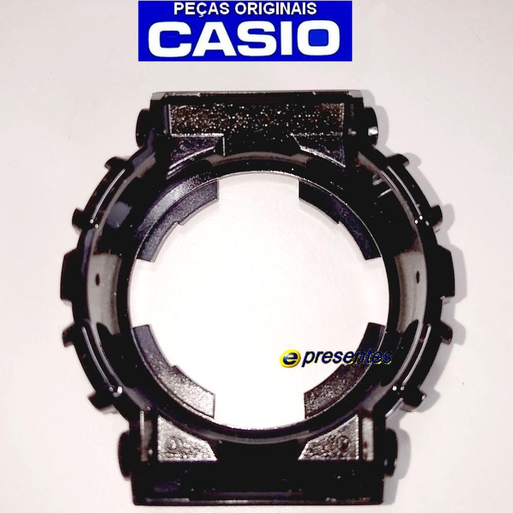 Bezel Capa Casio G-shock GD-100HC-1 Preto Brilhante - 100% Original  - E-Presentes