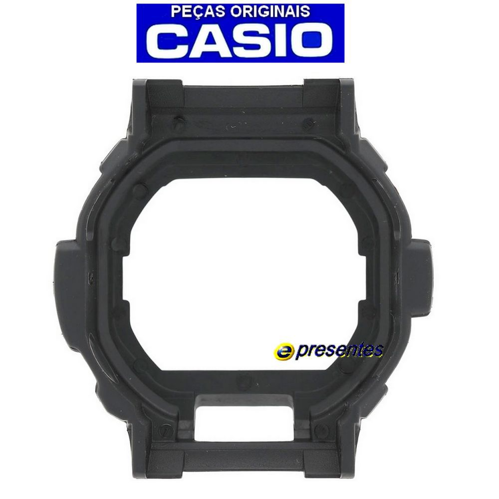 Bezel Capa Casio G-shock GD-350-1 Preto Fosco - 100% Original  - E-Presentes