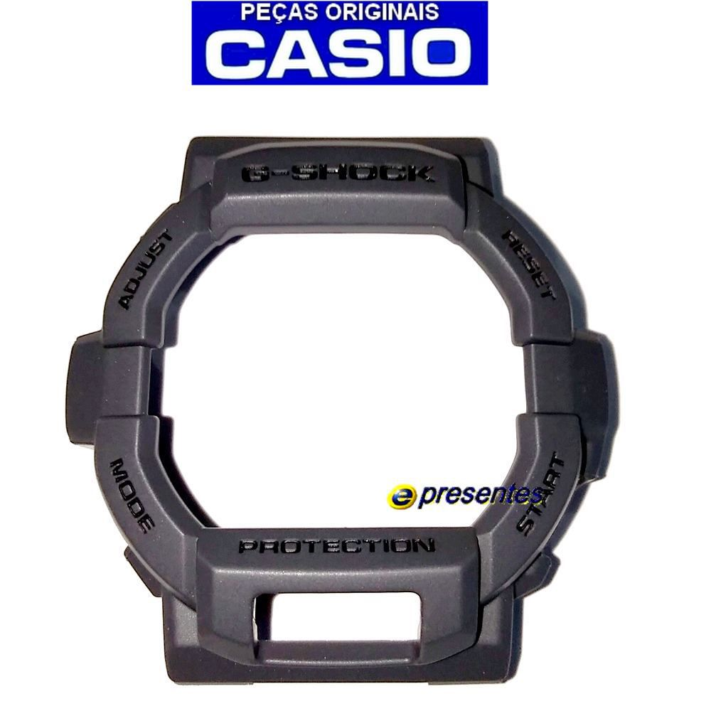 Bezel Capa Casio G-shock GD-350-8 Grafite - 100% Original  - E-Presentes