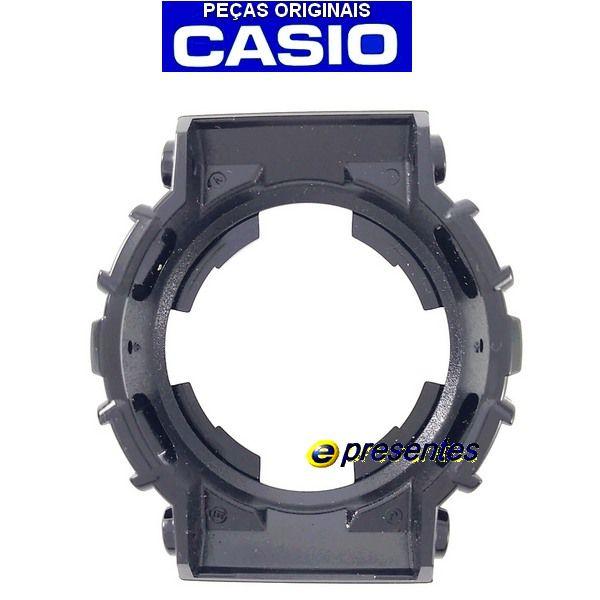 Bezel Capa Casio G-shock Preto Brilhante Ga-120b-1a - 100% Original  - E-Presentes