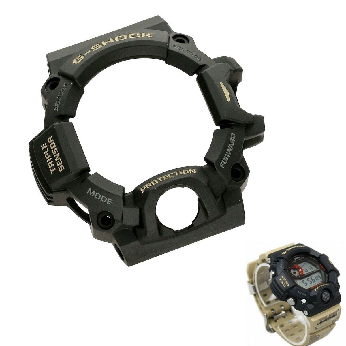 Bezel Capa Casio G-Shock Rangeman GW-9400DCJ-1 preto  *  - E-Presentes