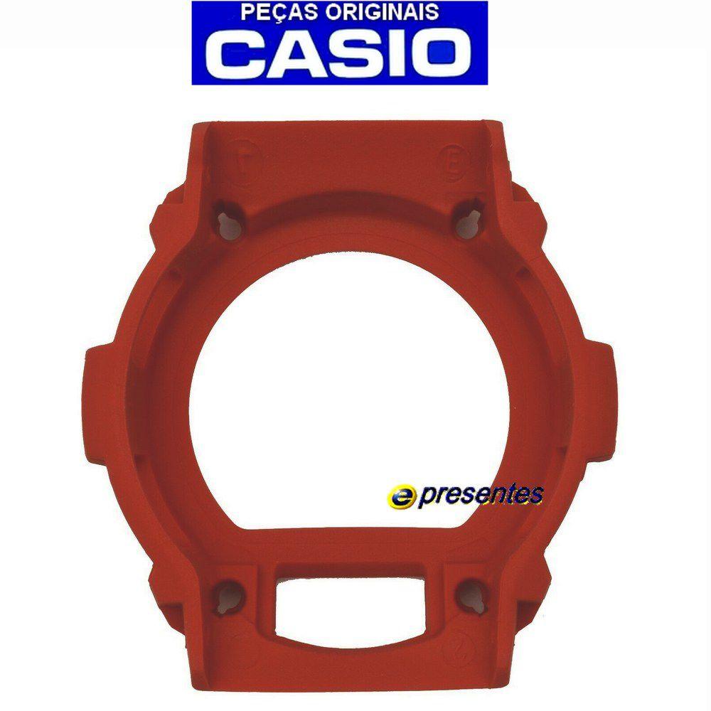 Bezel Capa Casio G-shock Vermelho G-7900a-4 100% Original  - E-Presentes