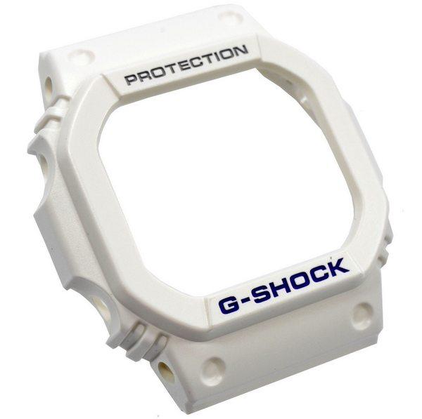 Bezel Capa G-shock Branco G-5600 GW-M5600 - PEÇA ORIGINAL  - E-Presentes