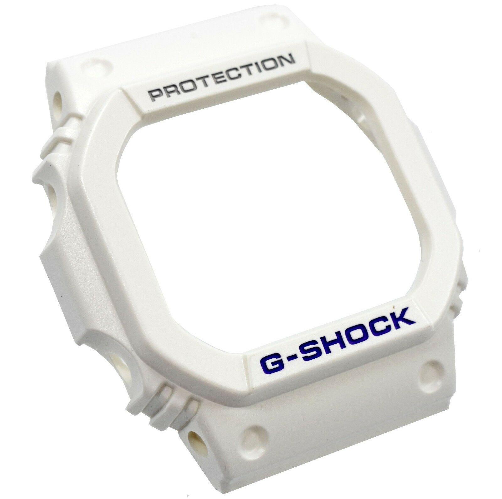 Bezel Capa G-shock Branco FOSCO GW-M5600A-7 G-5600A-7 - PEÇA ORIGINAL  - E-Presentes