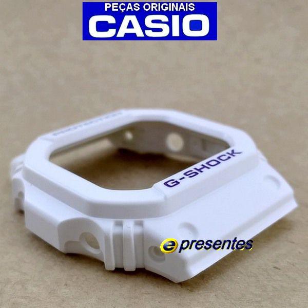 Bezel Capa G-shock Branco G-5600 GW-M5600 - PEÇA ORIGINAL  - Alexandre Venturini