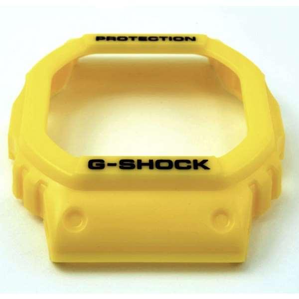 Bezel Capa G-shock Amarelo  Dw-5600fs-9 DW-5600P-9  - E-Presentes